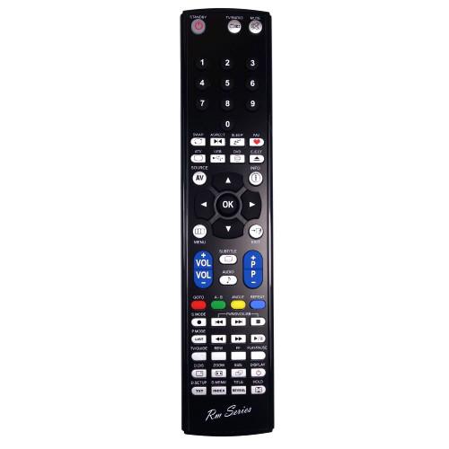 RM-Series TV Replacement Remote Control for 23-50E-BR-2B-TCDU-EU