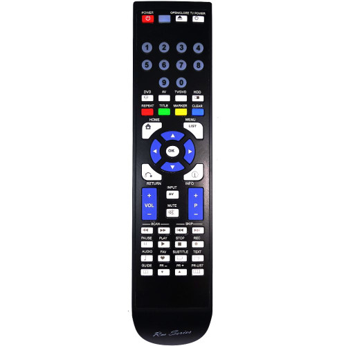 RM-Series DVD Recorder Replacement Remote Control for DRT389H
