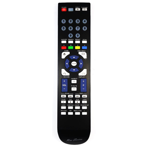 RM-Series Blu-ray Player Replacement Remote Control for 255LG