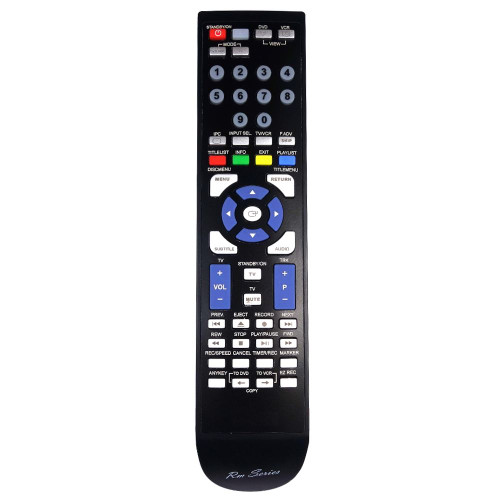 RM-Series DVD Player Replacement Remote Control for DVD-VR355