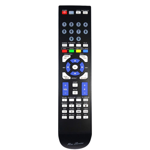 RM-Series Home Cinema System Replacement Remote Control for N2QAYB000366