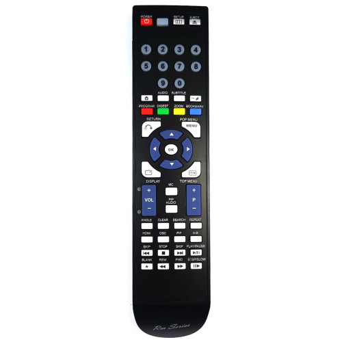 RM-Series Blu-ray Player Replacement Remote Control for BDX3400