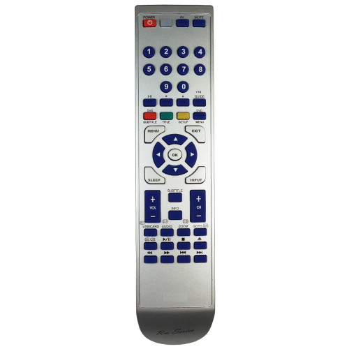 RM-Series TV Replacement Remote Control for 15WDVB