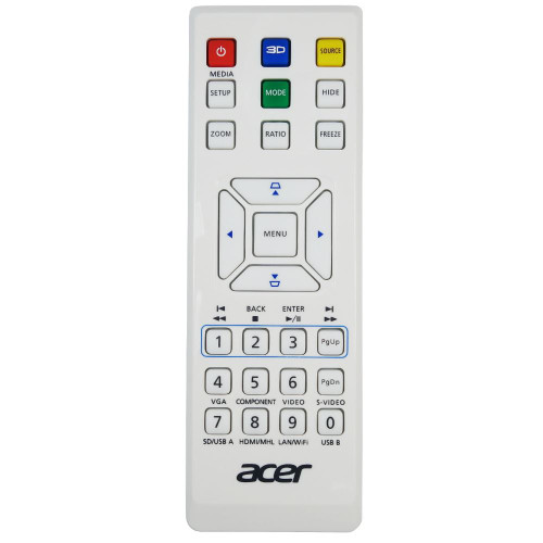 Genuine Acer H6502BD Projector Remote Control