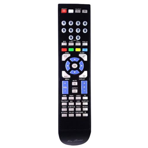 RM-Series TV Replacement Remote Control for Alba L32M1CA