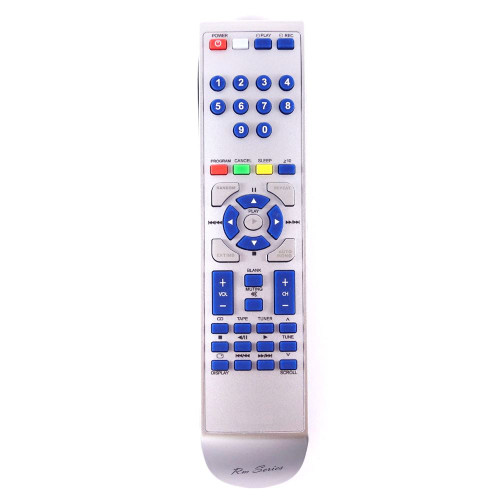 RM-Series HiFi  Replacement Remote Control for SE-HD550