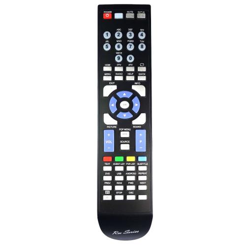 RM-Series TV Remote Control for Cello C16100F