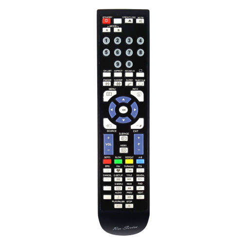 RM-Series TV Replacement Remote Control for Ferguson F2408LVD3