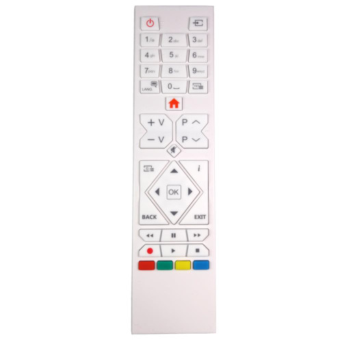 Genuine RC39105W White TV Remote Control for Specific Telefunken Models