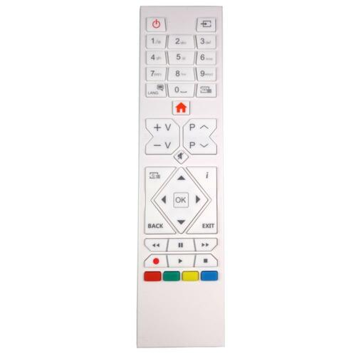 Genuine White TV Remote Control for Visitech 24VE019