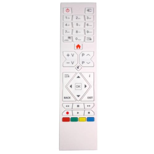 Genuine White TV Remote Control for Mitchell & Brown KB-242706FDVD