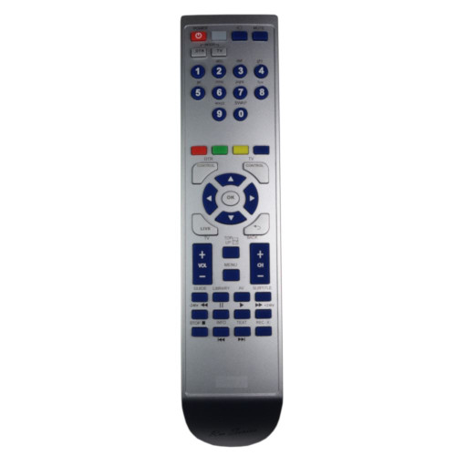 RM-Series PVR Remote Control for Finlux URC60231-00R01
