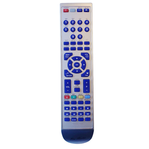 RM-Series TV Replacement Remote Control for Hitachi 20512262
