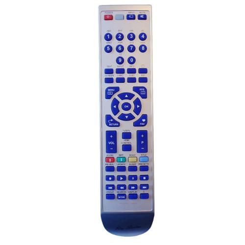 RM-Series TV Replacement Remote Control for Hitachi L42VC04U H