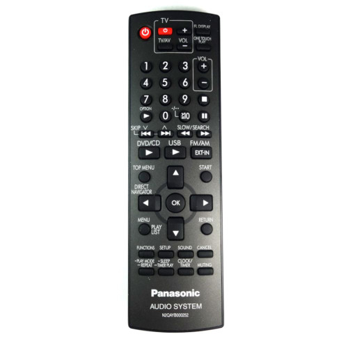 Genuine Panasonic SC-PM86 HiFi Remote Control