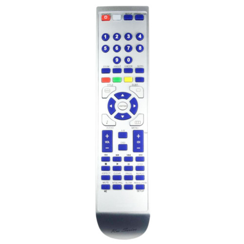 RM-Series DVD Player Remote Control for Logik L2HDVD11