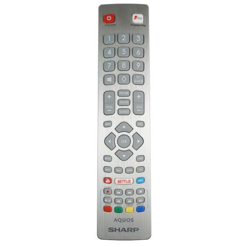 Genuine Sharp 2T-C40BG0KO2FB TV Remote Control