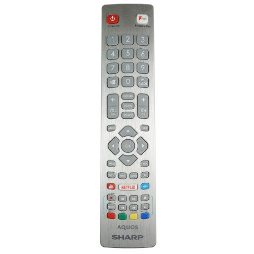 Genuine Sharp 2T-C40BG3KG2FB TV Remote Control