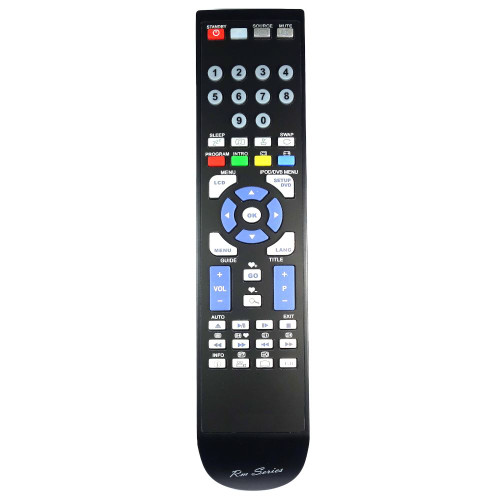 RM-Series TV Remote Control for Kenmark 19LVD00DI
