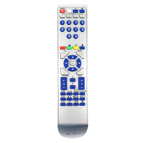 RM-Series TV Replacement Remote Control for JVC HD65DS8DDJ