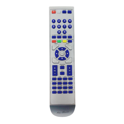 RM-Series TV Replacement Remote Control for Matsui 1409RBLK