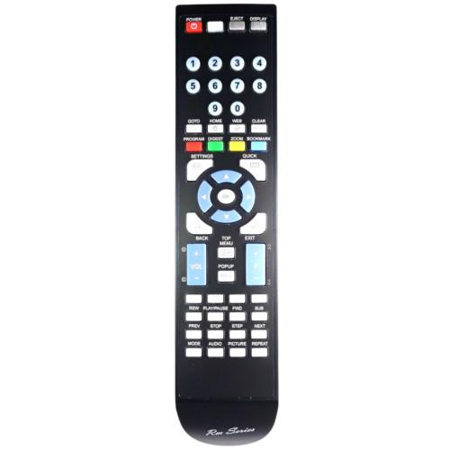 RM-Series Blu-Ray Remote Control for Toshiba BDX4500KE