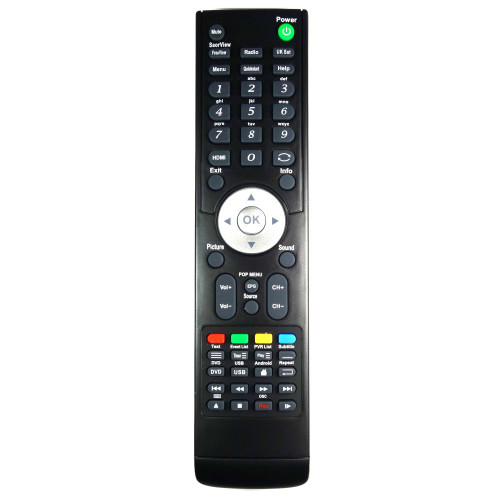 Genuine RCC020-001 TV Remote Control for Specific M&S Models