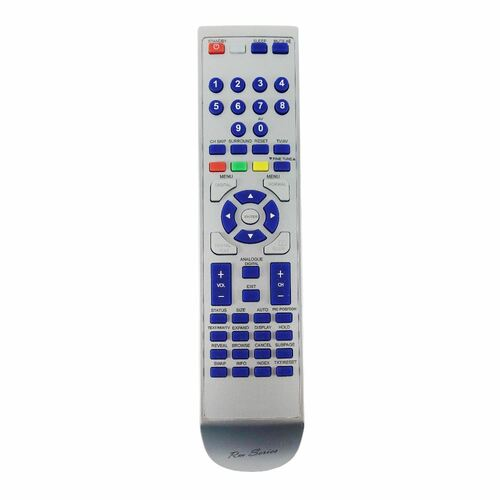 RM-Series TV Replacement Remote Control for Durabrand RCGE010
