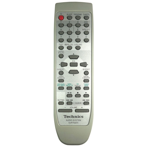 Genuine Technics SC-EH780 HiFi Remote Control