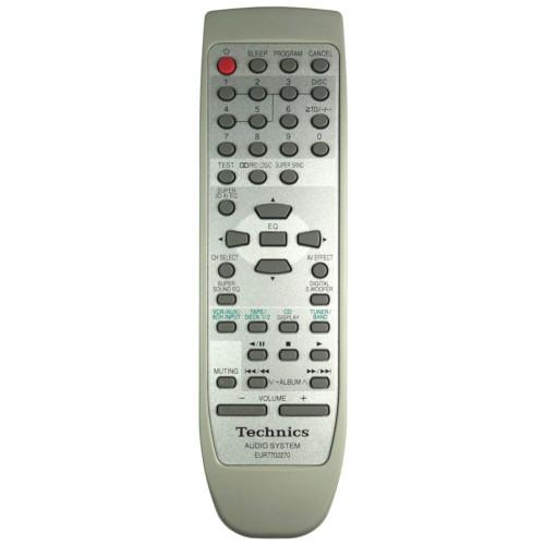 Genuine Technics EUR7702270W / EUR7702050 HiFi Remote Control