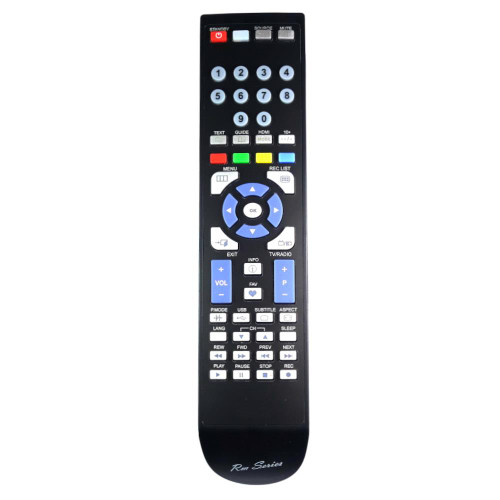RM-Series TV Remote Control for Qantec 55QB8B4XXU