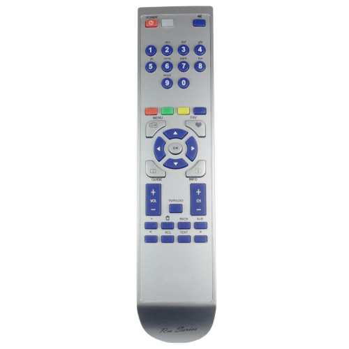 RM-Series Digital Set Top Box Remote Control for Dion STB2AW09PLUS