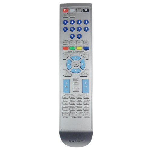 RM-Series DVD Player Remote Control for Pananonic NV-VP33EF