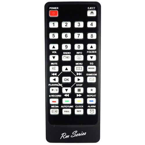 RM-Series HiFi Remote Control for Roberts MP43