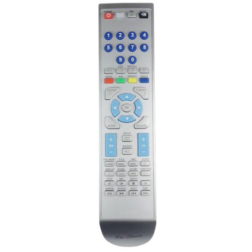 RM-Series TV Remote Control for TEVION LCDTV2411