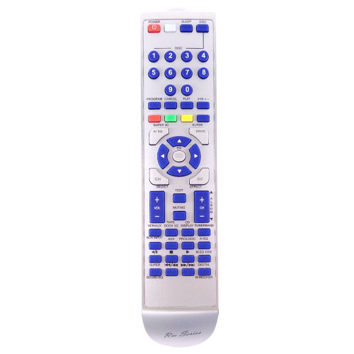 RM-Series HiFi Replacement Remote Control for Technics RS-DV250