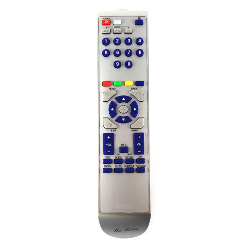 RM-Series Satellite Receiver Replacement Remote Control for Technisat HDFS 6869