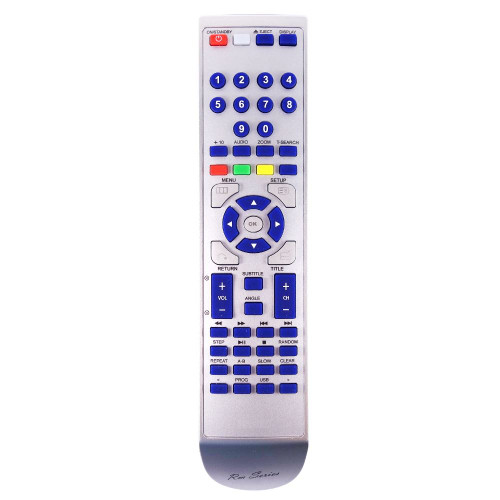 RM-Series DVD Player Replacement Remote Control for Toshiba AH802276