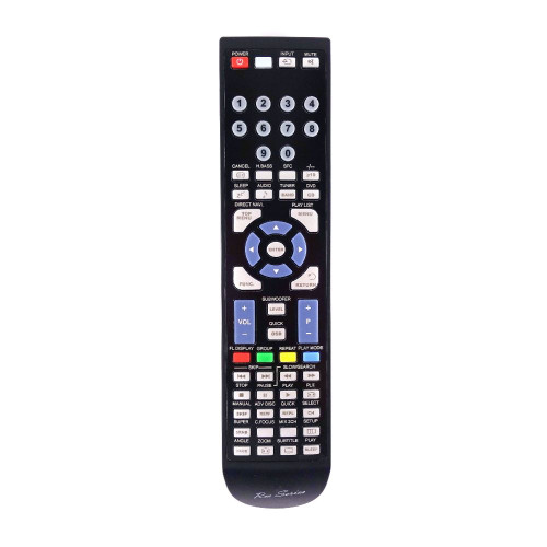 RM-Series Home Cinema System Replacement Remote Control for Panasonic EUR7722XH0