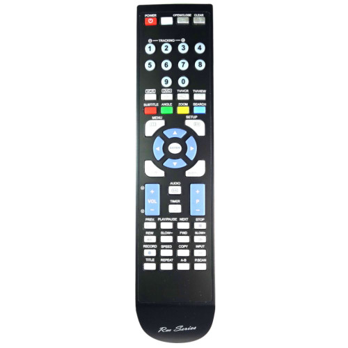 RM-Series DVD/ VHS Recorder Remote Control for Bush DVHRS02