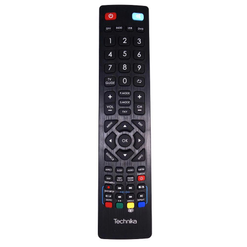Genuine Technika 22E21BFHDDVD TV Remote Control