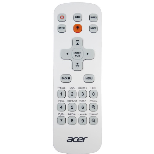 Genuine Acer A1500 Projector Remote Control