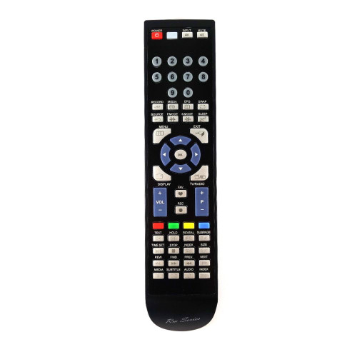 RM-Series TV Remote Control for Baird TE46LEDBK