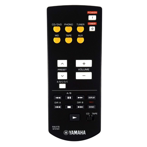 Genuine Yamaha AX-497 Amplifier Remote Control