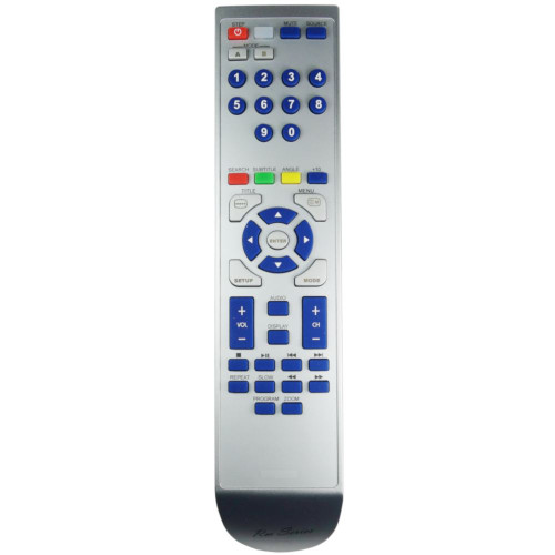 RM-Series DVD Player Remote Control for Technika TK9PD14