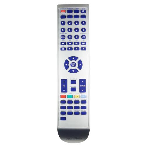 RM-Series TV Remote Control for Asda PLV68155S67