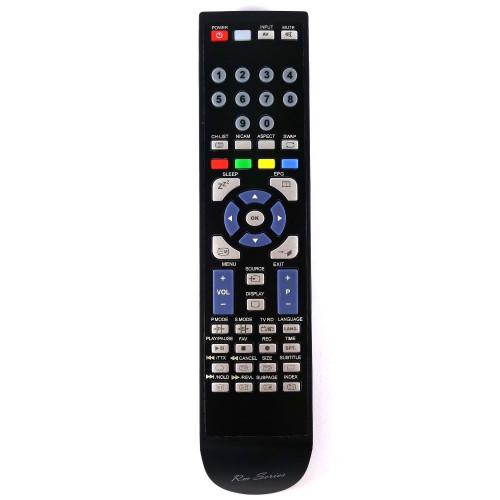 RM-Series TV Remote Control for VELTECH LE40GB01-C