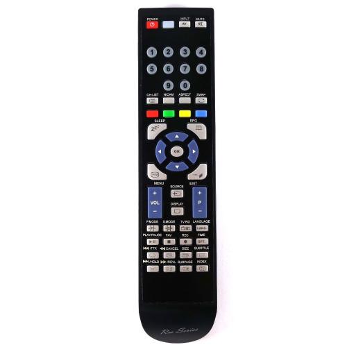 RM-Series TV Remote Control for VELTECH LE-32GE11E+DVD