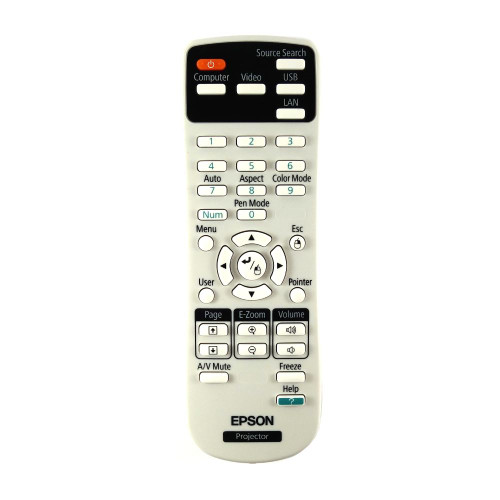 Genuine Epson 1583270 / 158327000 Projector Remote Control -