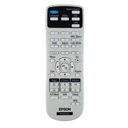 Genuine Epson 1626366 / 162636600 Projector Remote Control -